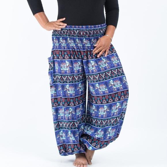 419118d2a38ac Harem Pants Pants - NWOT Plus Size Thai Boho Harem Pants from Thailand
